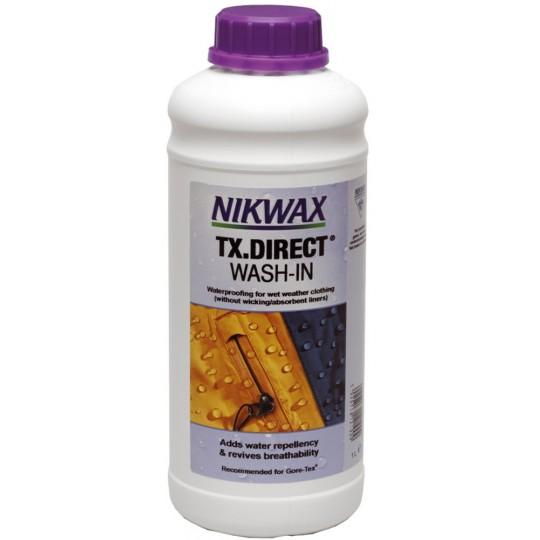 Imperméabilisant pour Gore-Tex Wash-in Tx Direct 1L Nikwax