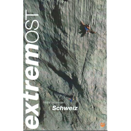 Livre Topo Escalade en Suisse Est - Schweiz Extrem Ost - Editions Filidor