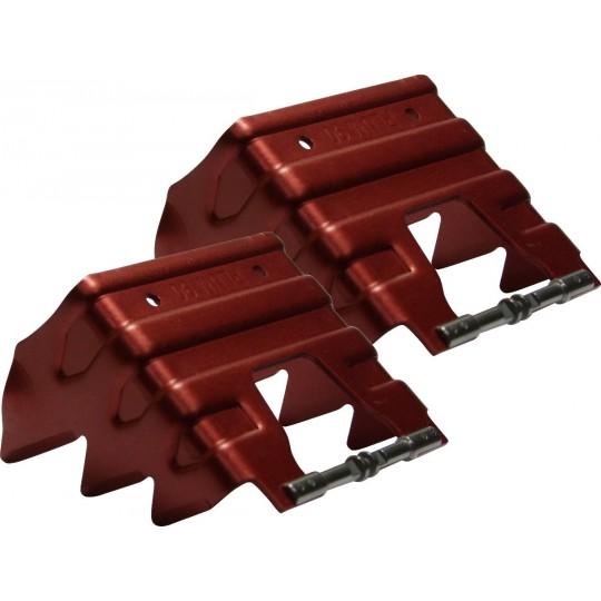 Couteaux 90mm rouge Plum