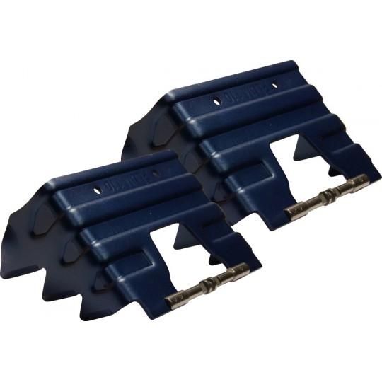 Couteaux 110mm bleu pour fixations ski de rando Plum