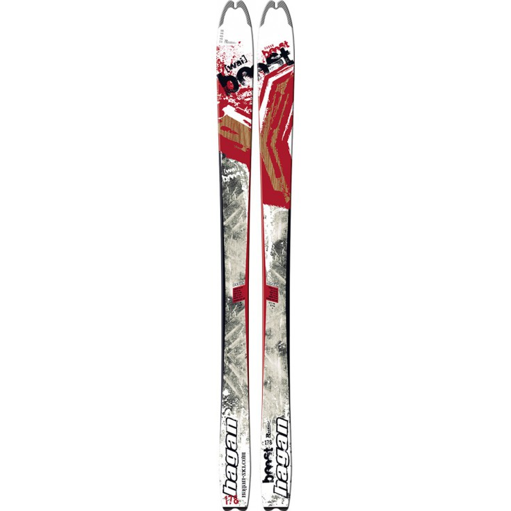 Ski de rando freeride Y-Boost 97mm 2016 Hagan