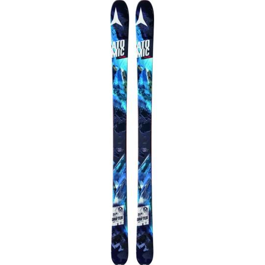 Ski de rando freeride Backland 95mm Drifter blue 2014-2015 Atomic