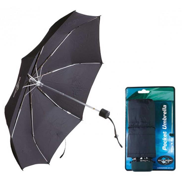 Parapluie de Poche noir SeaToSummit