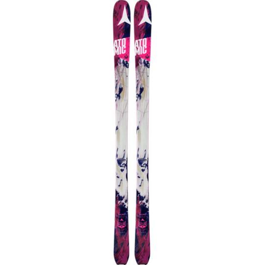 Ski de rando femme Backland 78 Women white-berry Atomic 2016