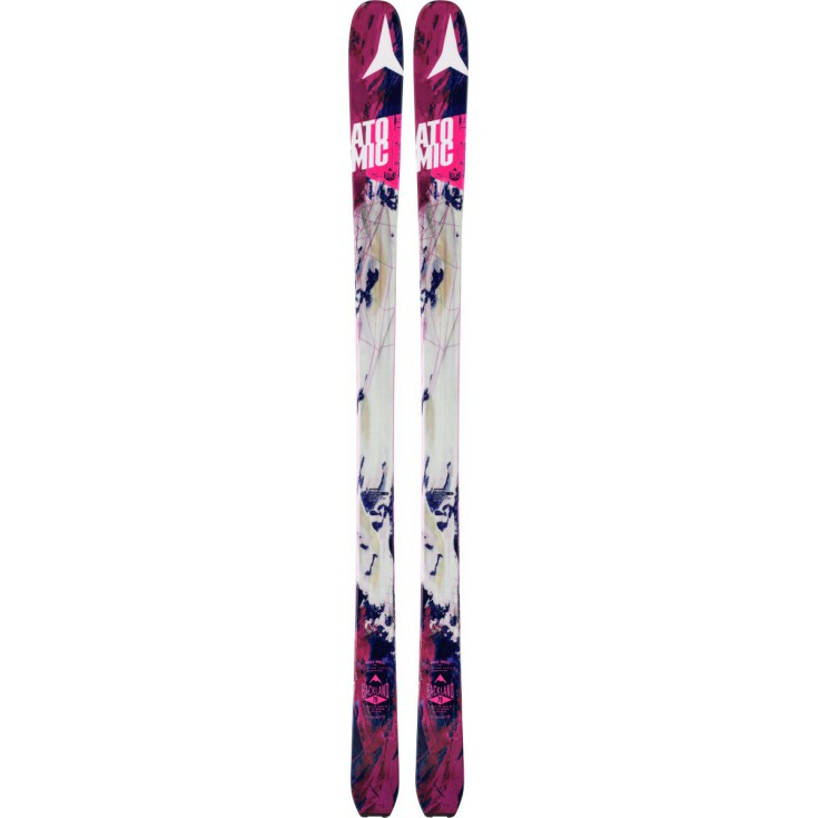 Ski de rando femme Backland 78 Women white berry 2015-2016 Atomic