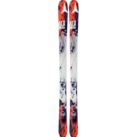 Ski de rando Backland 85 Black-Orange Atomic 2017