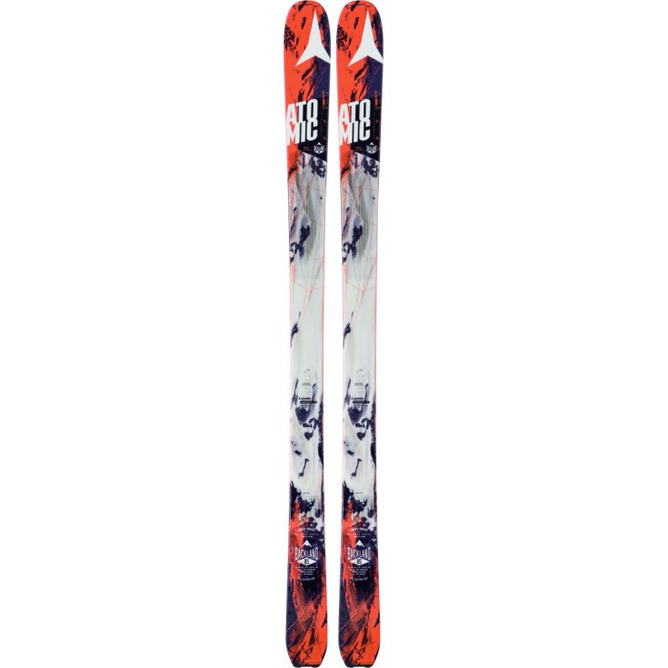 Ski de rando Backland 85 Black-Orange Atomic 2017