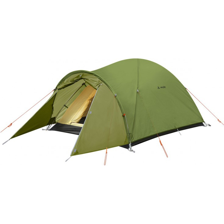 Tente Campo Compact XT 2P Chute Green Vaude