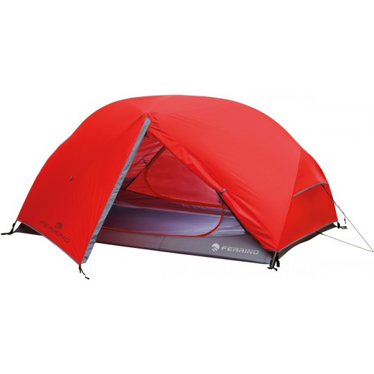 Tente Atom 2 rouge Ferrino