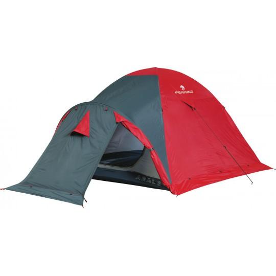 Tente Aral 3 rouge-gris Ferrino