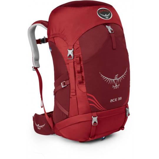 Sac à dos enfant Ace 38 paprika red Osprey