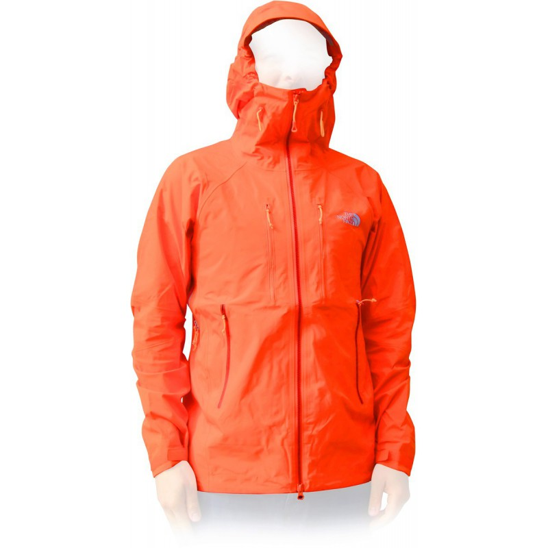 veste gore tex homme front point jacket orange the north. Black Bedroom Furniture Sets. Home Design Ideas