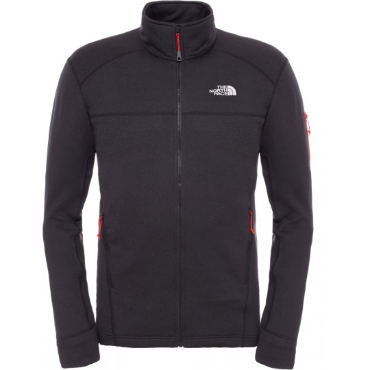 Polaire homme Hadoken Full Zip Jacket noire The North Face