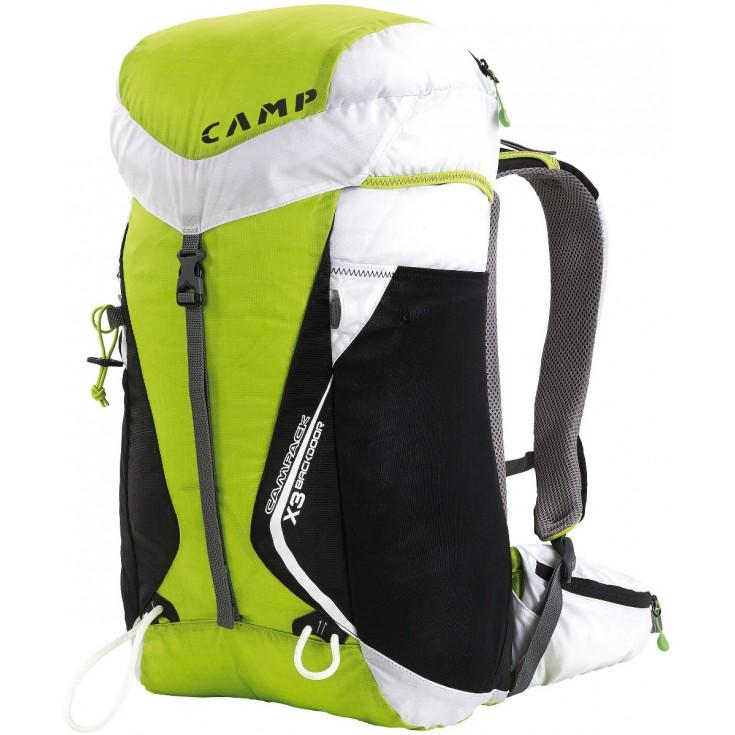 Sac à dos Campack X3 Backdoor vert blanc CAMP