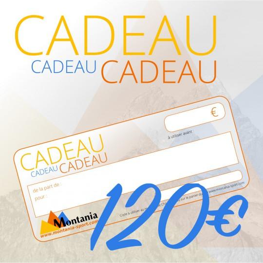Chèque Cadeau 120€