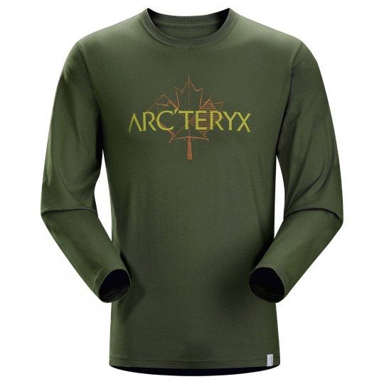 Tee-shirt manches longues homme Maple Anaconda Arcteryx
