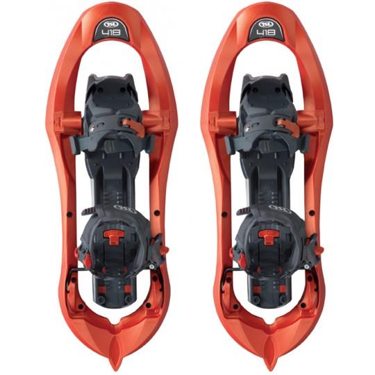 Raquettes à neige TSL 418 orange goyave Up&Down Grip