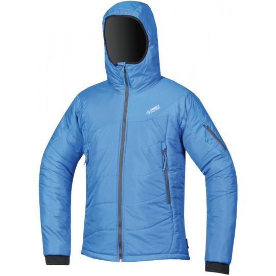 Doudoune à capuche homme Denali 5.0 bleue Directalpine