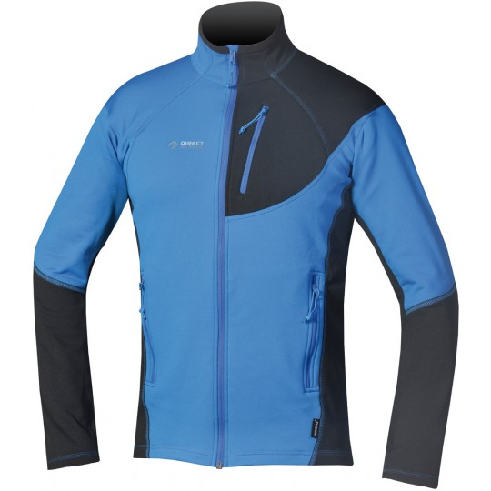 Polaire stretch homme Gavia 2.0 bleue Directalpine