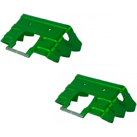 Couteaux 80mm vert pour fixations ski de rando Dynafit