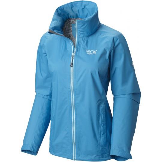 Veste pluie femme Plasmic Ion Jacket Woman ocean-blue Mountain Hardwear