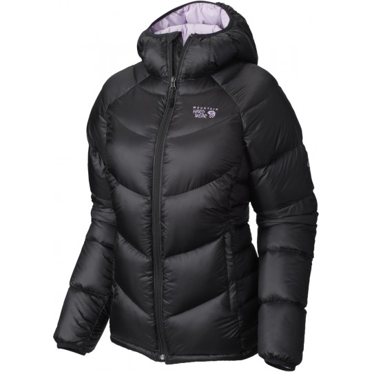 Doudoune femme Kelvinator Hooded Jacket black-phantom purple Mountain Hardwear