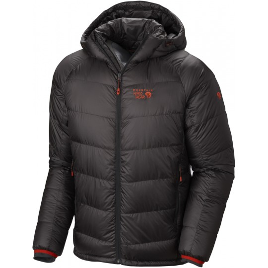 Doudoune à capuche homme Phantom Hooded Down Jacket shark Mountain Hardwear