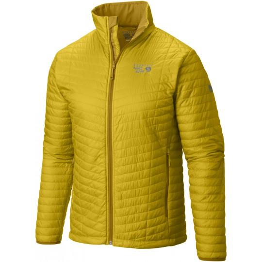Doudoune homme Micro Thermostatic Jacket jaune Electron Yellow Mountain Hardwear