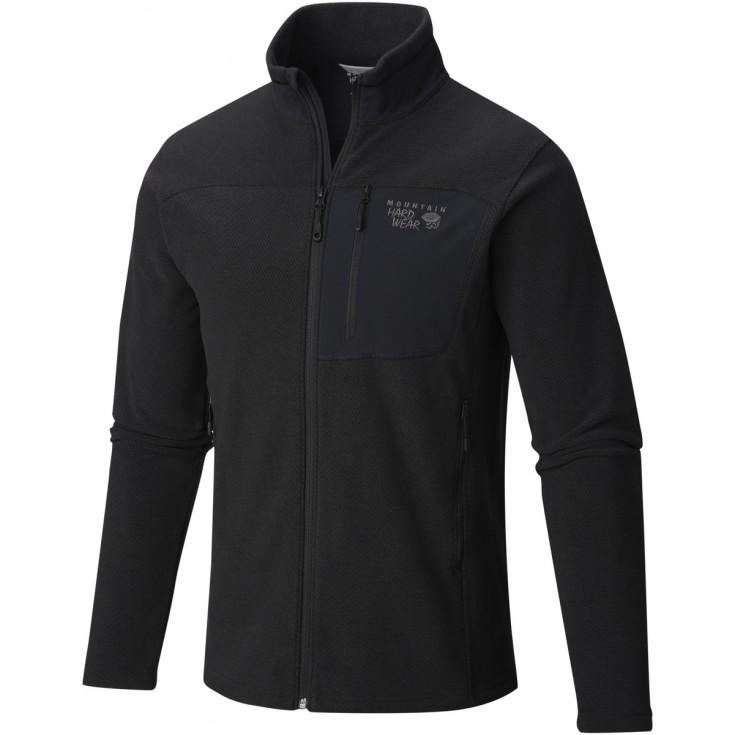 Pullover homme Full Zip Toasty Twill Black-Titanium Mountain Hardwear