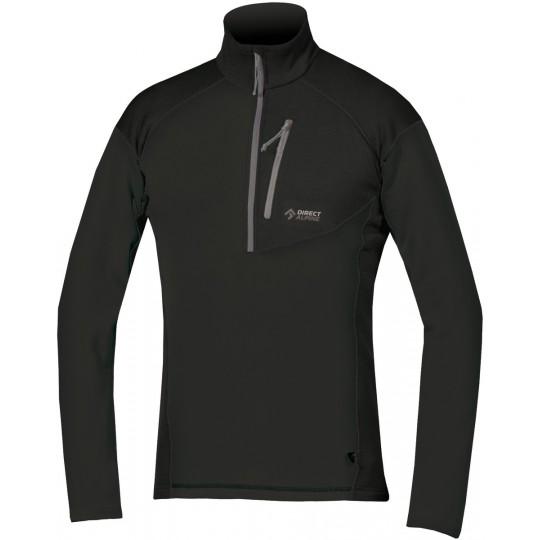 Pullover stretch homme Tonale 2.0 noir Directalpine