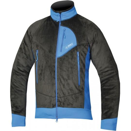 Polaire chaude homme Lava 3.0 noire-bleue Directalpine