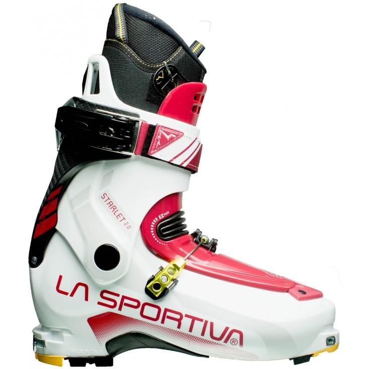 Chaussure ski de rando Starlet 2.0 blanche-bordeau 2016 LaSportiva