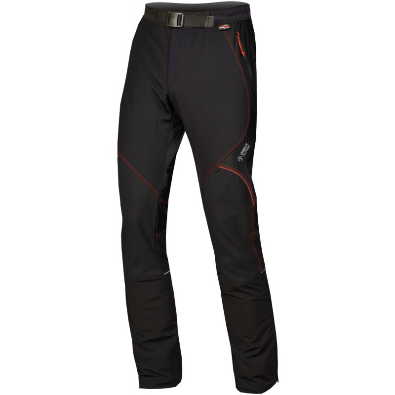 pantalon ski de rando homme skitour 1 0 noir rouge. Black Bedroom Furniture Sets. Home Design Ideas