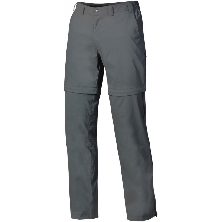 Pantalon convertible homme BEAM ZIP OFF PLUS Gris-Anthracite DirectAlpine