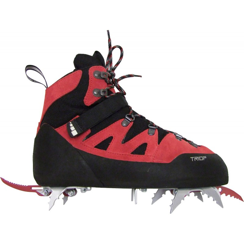 Ice Avec Chaussure Rouge Tooling De Dry Crampons Capoeira Triop xnqw1aIqP
