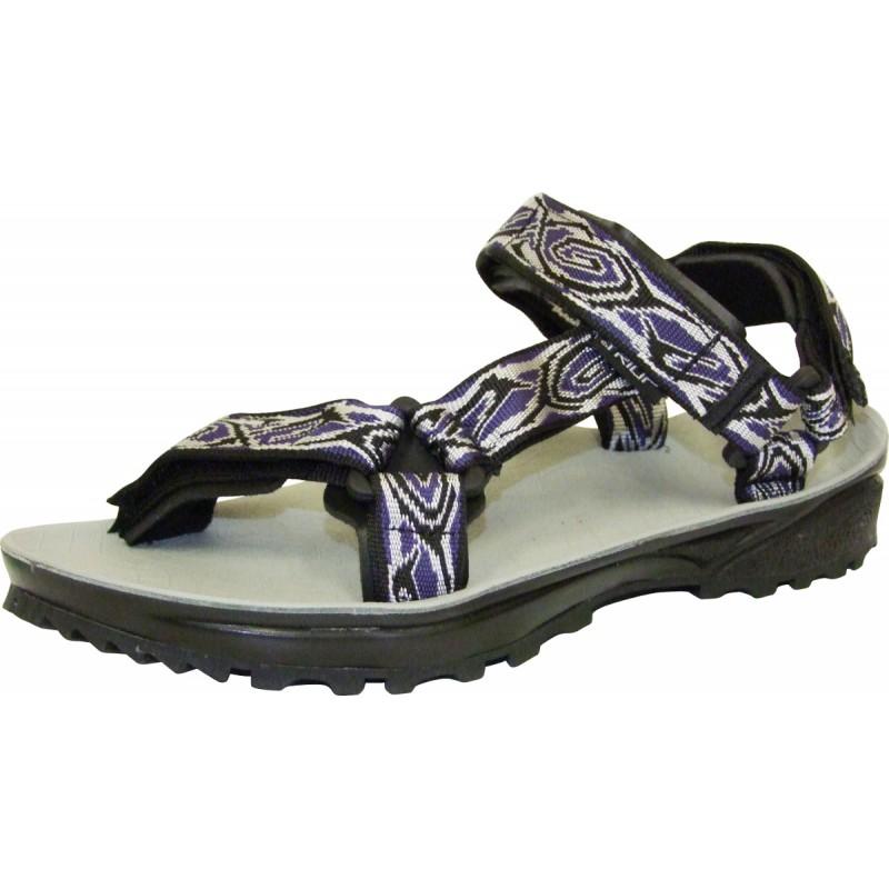 f84ede08bd8160 Sandale de randonnée homme TERRA TREK bleu-noir Triop S18 - Montania ...