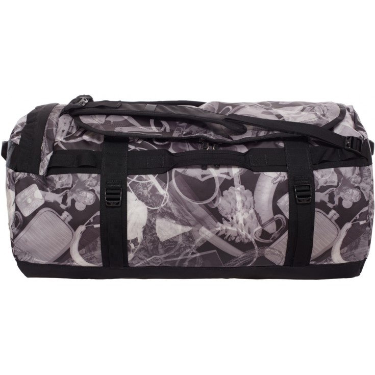 Base Camp Duffel L TNF Black X-Ray The North Face