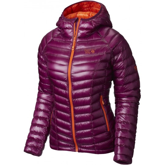 Doudoune à capuche femme Ghost Whisperer Hooded Down Jacket dark raspberry-orange Mountain Hardwear