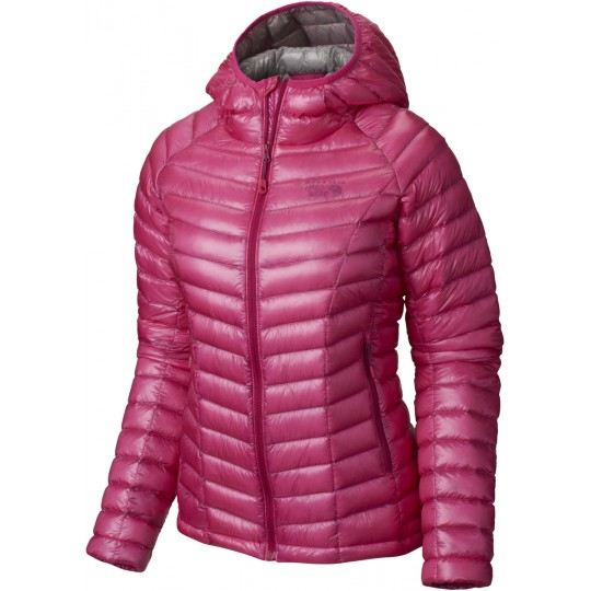 Doudoune à capuche femme Ghost Whisperer Hooded Down Jacket haute pink Mountain Hardwear