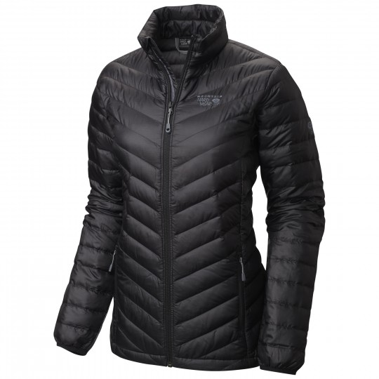 Doudoune femme Nitrous Hooded Down Jacket noire Mountain Hardwear