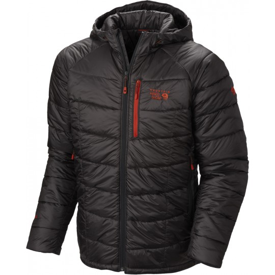 Doudoune à capuche homme Super Compressor Hooded shark Mountain Hardwear