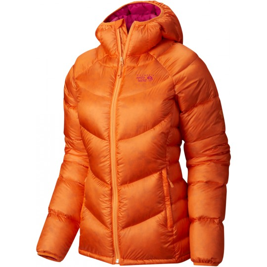 Doudoune à capuche femme Kelvinator Hooded Jacket orange zest-deep blush Mountain Hardwear