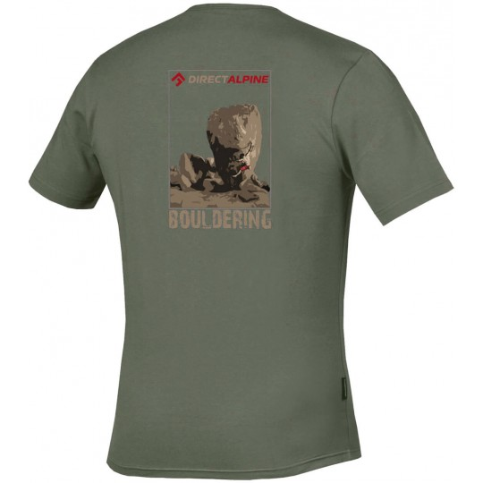 Tee-shirt homme escalade FLASH TEE slate - bouldering DirectAlpine