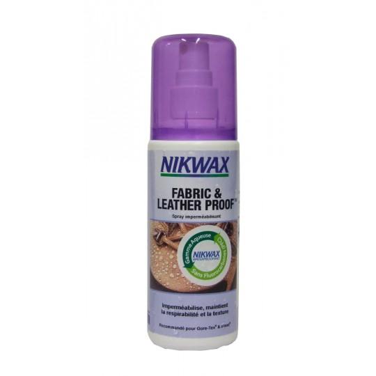 Spray imperméabilisant pour chaussures mixtes Tissu et Cuir Gore-Tex Nikwax