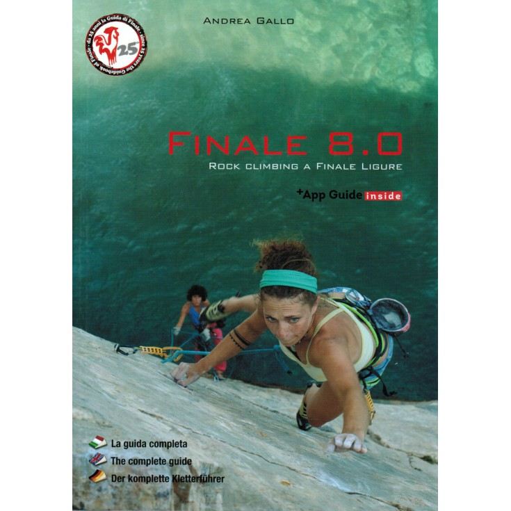 Livre Topo d'escalade Finale 8.0 Rock climbing a Finale ligure - Andrea Gallo