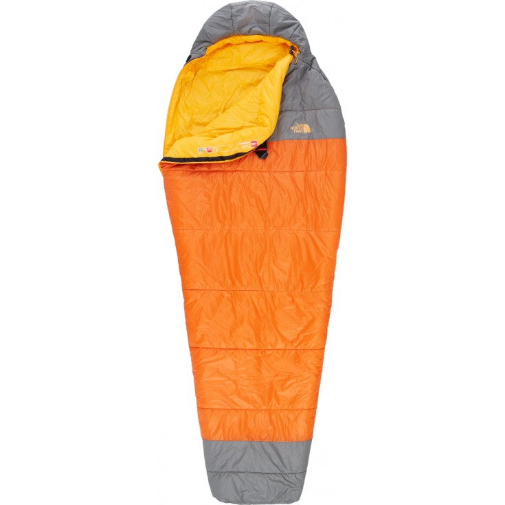 Sac de couchage synthétique Lynx LNG orange-gris The North Face