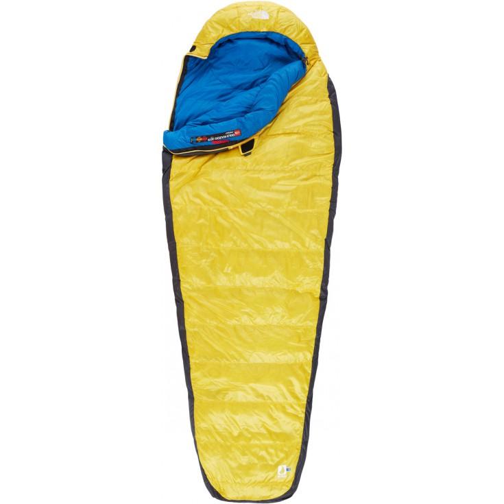 Sac de couchage plume Gold Kazoo REG jaune-bleu The North Face