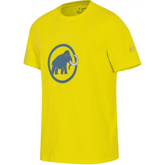 Tee-shirt coton biologique homme Original Logo limeade Mammut