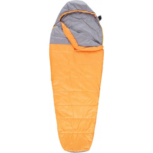 Sac de couchage synthétique Aleutian 35/2 REG orange-gris The North Face
