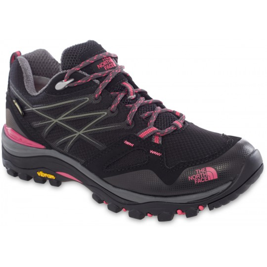 9bf5916274b7 Chaussures basse Gore-Tex femme Hedgehog FastPack GTX noir-rose The North  Face
